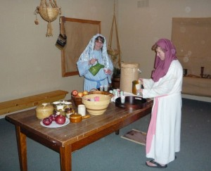 The Innkeepers staff preparing refreshments for visitors