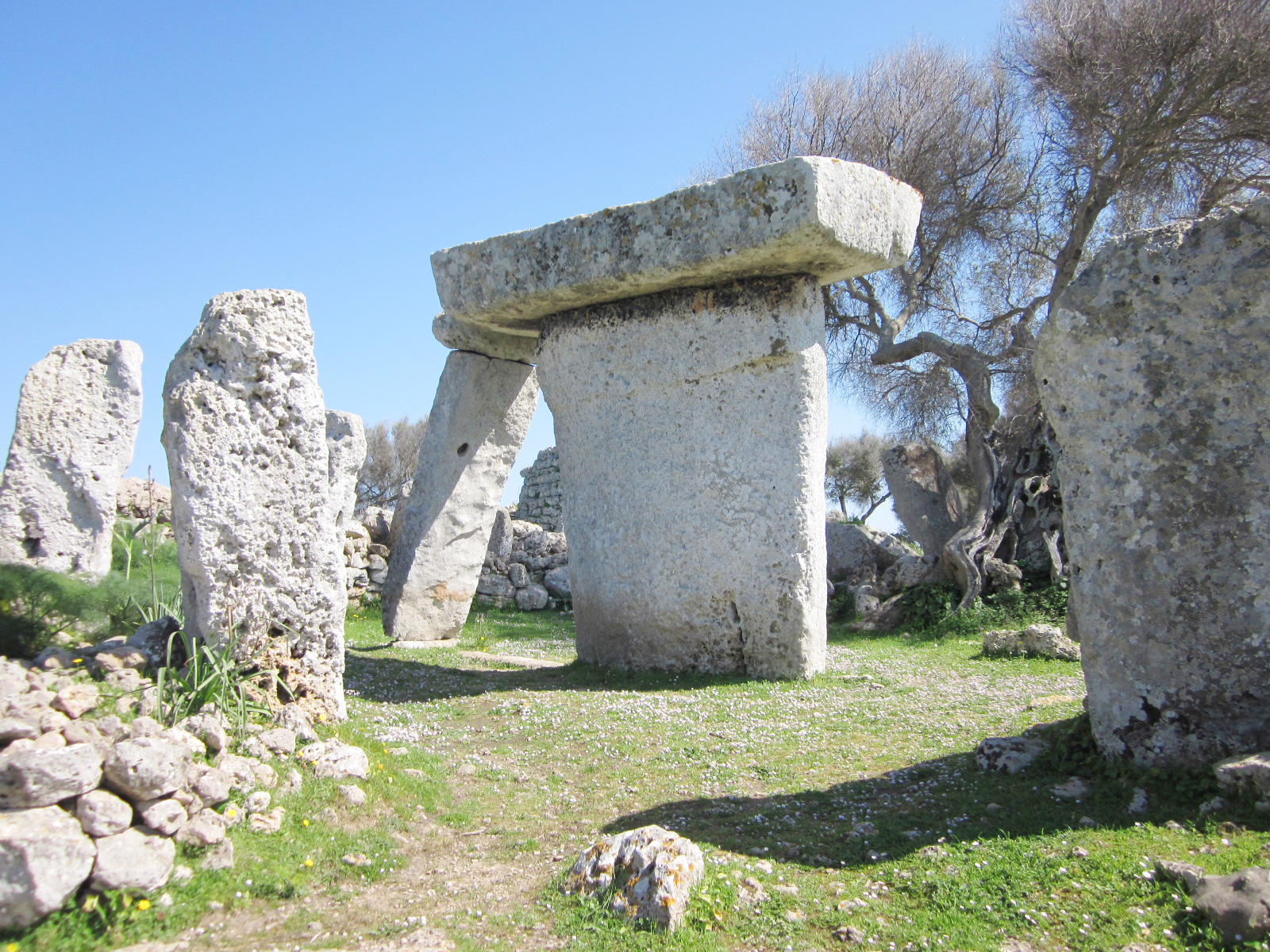 Freestanding Megaliths of Menorca
