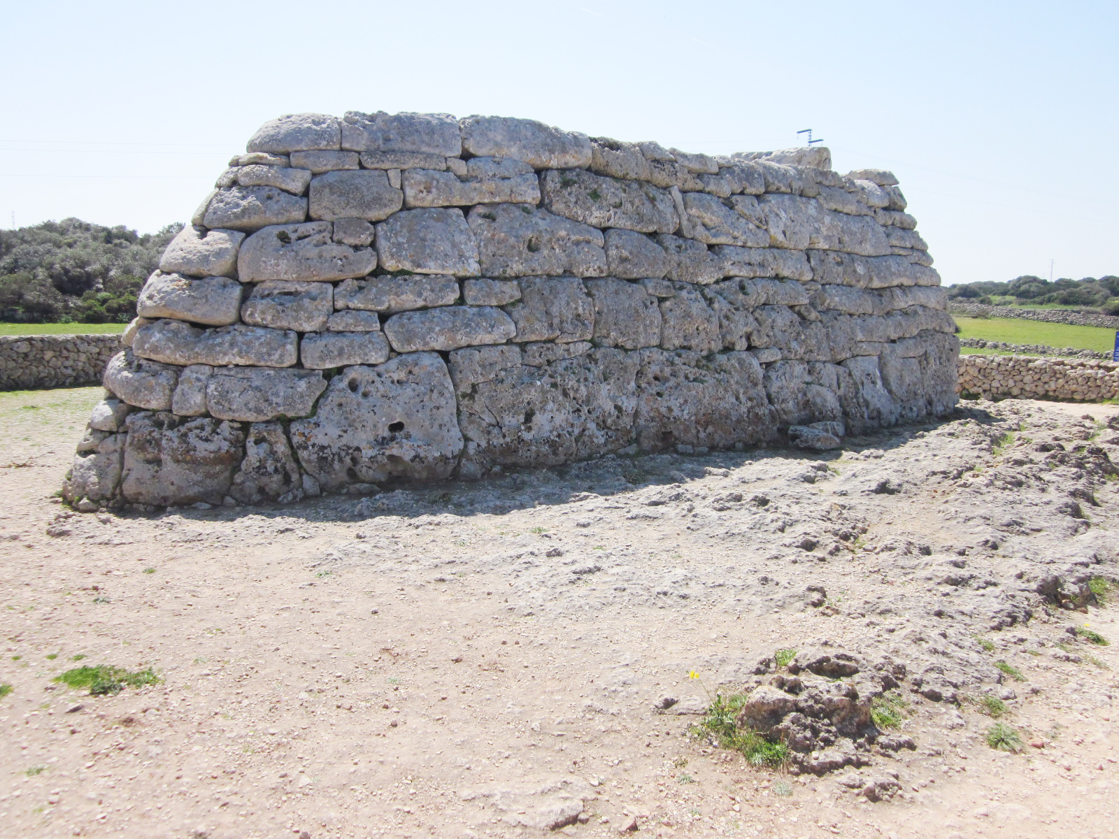 Navetas like this were built as  prehistoric mausoleums.