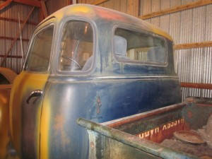 Partly restored Seven Window 1950 Chev Truck