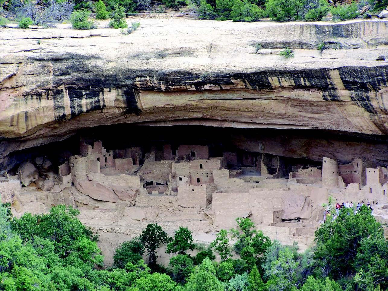 Mesa Verde Cliff Dwellings, Colorado Willa Wick Photo