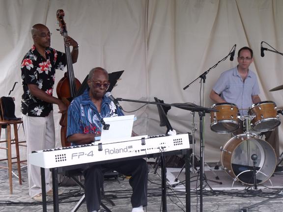 Veteran bluesman Curley Bridges was the opening act at the 2011 Underground Railroad Music Festival. Patrick Raftis photo