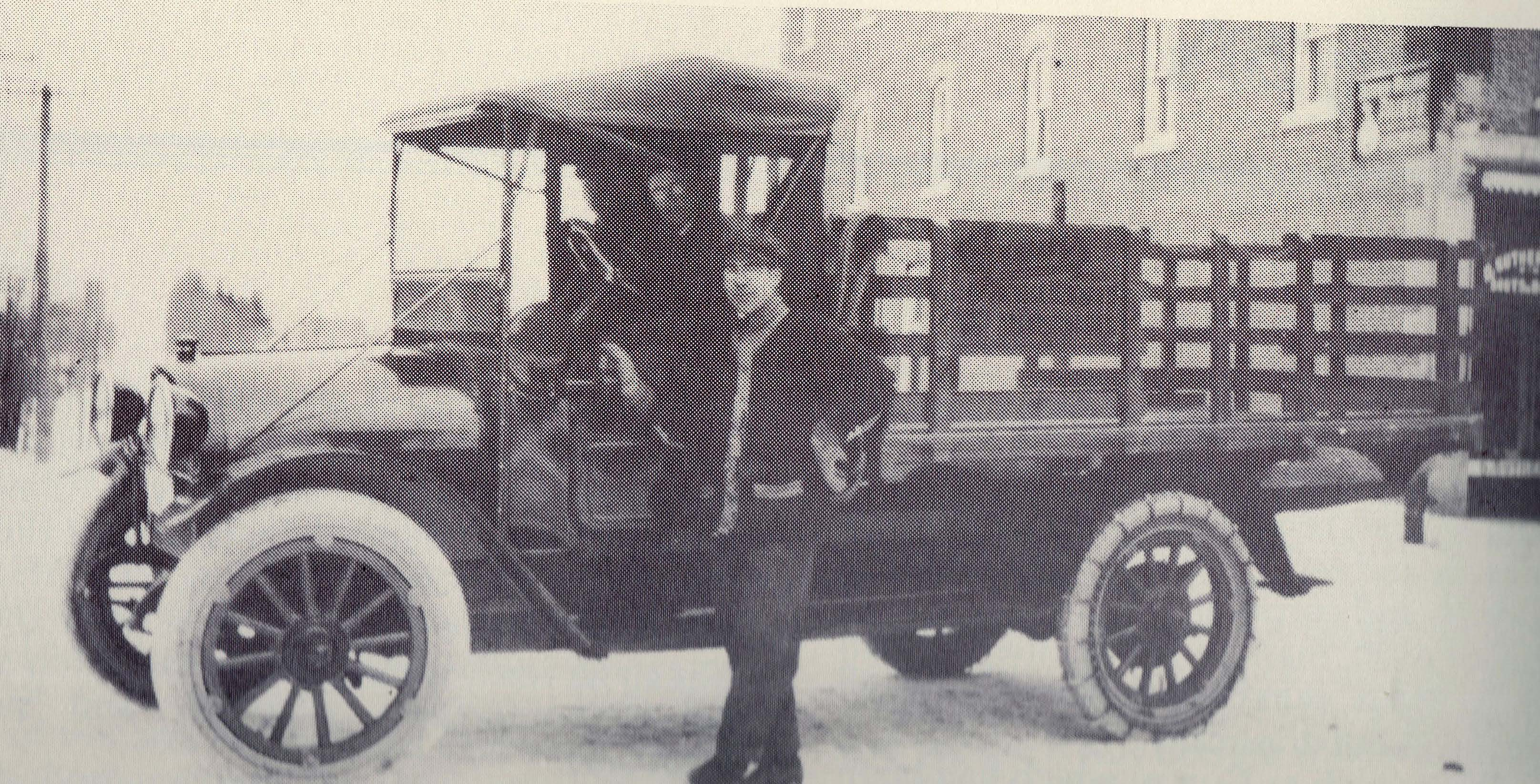 The first Reo transport truck in 1926