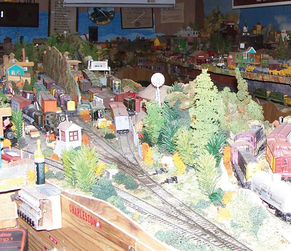 A model railroad layout can take years to complete and can fill a good-sized recreation room. Willa Wick photo